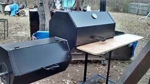 Bbq smoker build with octagon and hexagon - YouTube