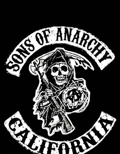 Sons Of Anarchy Reaper Logo Android Wallpaper (best
