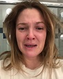 Drew Barrymore Shares a Photo of Herself Crying to Prove a ...