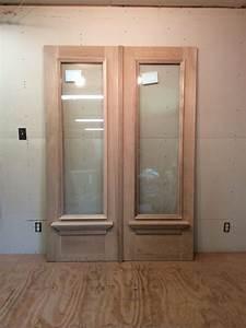 Wood, Custom, Entryway, Doors, U2013, Jim, Illingworth, Millwork, Llc
