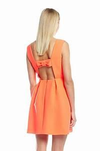 robe robyne neon robe de ceremonie femme claudie With robe claudie pierlot noeud