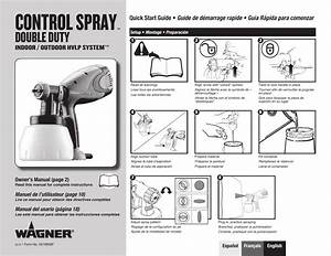 Wagner Control Spray Double Duty Manual