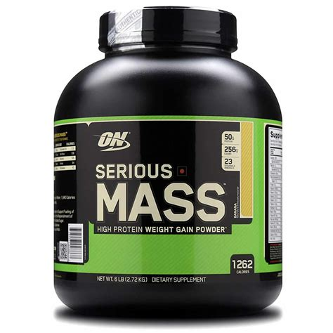 Optimum Nutrition Serious Mass Protein Mass Gainer - 6 lbs