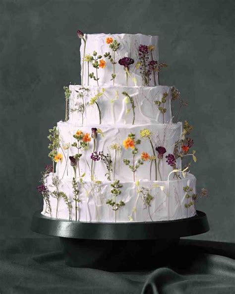 edible flowers cake ideas  pinterest