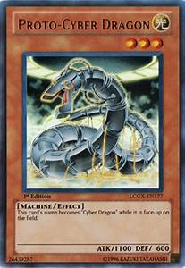 Yu-Gi-Oh Legendary Collection Single Proto-Cyber Dragon ...