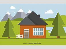 Home illustration design Vector download