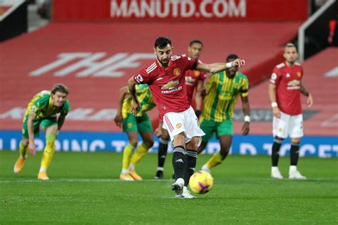 Manchester United 1-0 West Bromwich Albion: Bruno ...