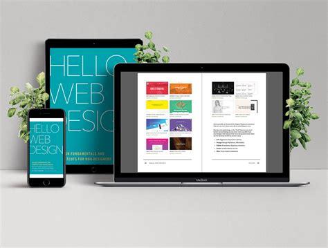 learn web design fundamentals and shortcuts with hello web design hello web books