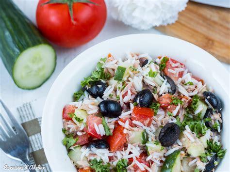 cuisine salade de riz salade de riz au thon facile et rapide la cuisine d