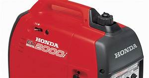 Rex And The Bass  Honda Eu2000i Portable Generator Review