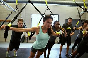 TRX Suspension Training Total Body Workout Levin JCC