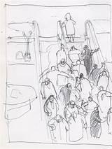 Getdrawings Escalator Drawing sketch template