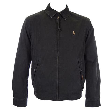 polo ralph black shelburne windbreaker jacket polo ralph from n22 menswear uk
