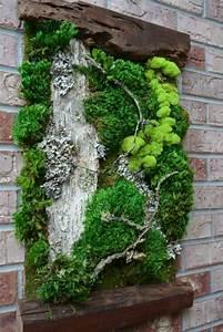 Vertikale Gärten Selber Machen : 1001 ideen zum thema moosbilder selber machen moos co pinterest holzrahmen selber machen ~ Bigdaddyawards.com Haus und Dekorationen