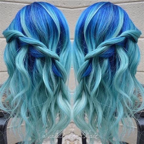 Hair And Blue by 20 Icy Light Blue Hair Ideas