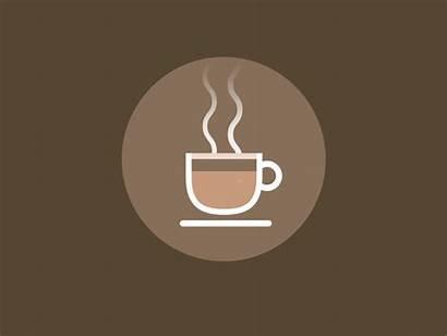Coffee Icon Dribbble Animation