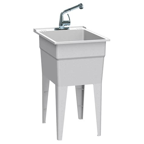 all in one utility sink all in one quot laundry tub kit rona