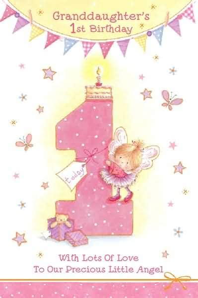 First Birthday Wishes Granddaughter