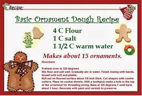 cookie dough ornament ideas time for the holidays