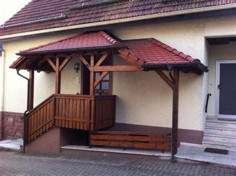 VorbauÜberdachung Aus Holz Für Eingangsbereich Haus (inkl