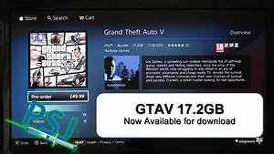 Playstation Store Uk : gtav downloading now uk psn store youtube ~ A.2002-acura-tl-radio.info Haus und Dekorationen