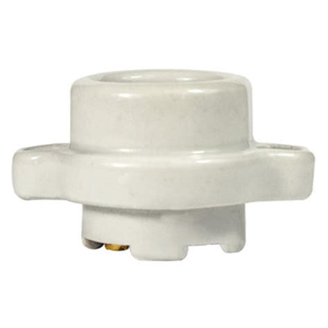 leviton l9878 keyless medium base socket porcelain
