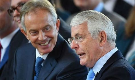 'Irrelevant!' Blair and Major ordered to stay out of it ...