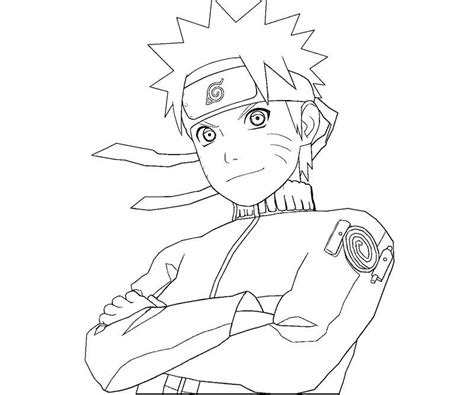 naruto coloring pages ll coloring pages naruto sketches