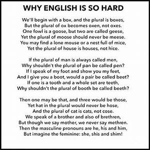 Why English Is So Hard Pictures, Photos, and Images for