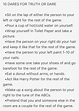 10 Dares for Tween Truth or Dare | Fun party games, Fun ...