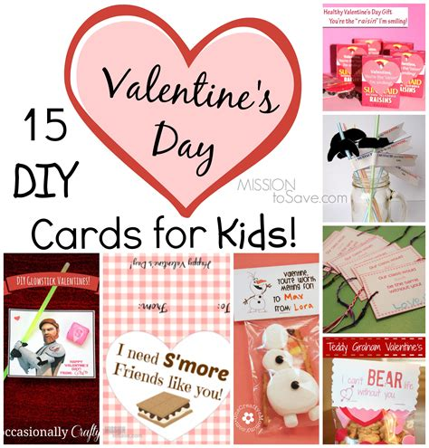 valentines day card kids 15 diy day cards for kids mission to save