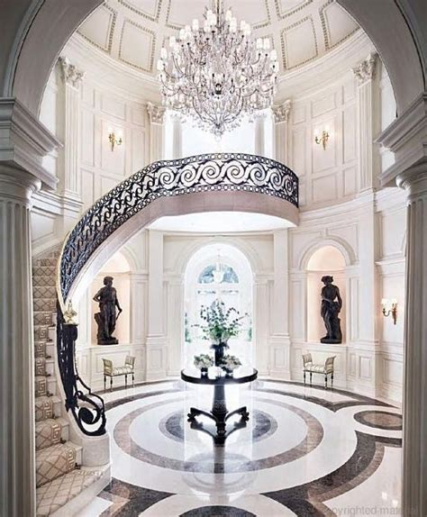 grand foyer dubrow house completed search grand