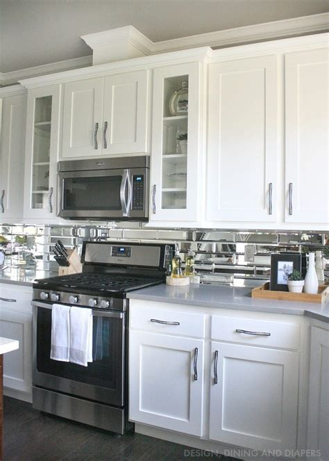 White Cabinets Gray Countertops by Gray And White Kitchen Reveal Whiteaker