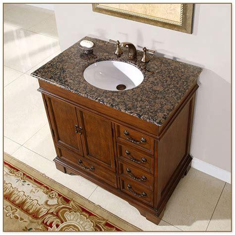 36 bathroom vanity with granite top sink bowls on top of vanity home design ideas and