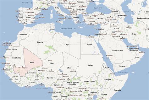 mali map  mali satellite images