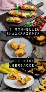 Schnelle Rührkuchen Mit öl : 3 schnelle mit k se berbackene snacks kuechenchaotin ~ Orissabook.com Haus und Dekorationen