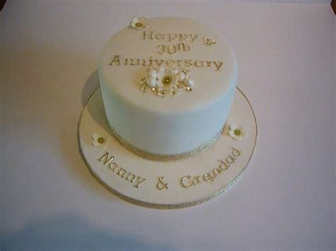 8 Best Images About 30th Wedding Anniversary Cakes On