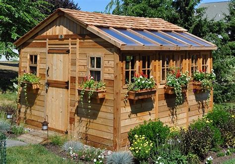 large outdoor sheds greenhouse she shed 22 awesome diy kit ideas