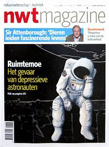 Bored Astronaut for NWT Magazine – Hire an Illustrator