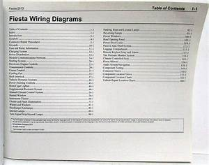 2013 Ford Fiesta Electrical Wiring Diagrams Manual