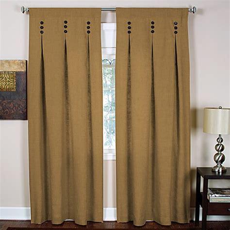 back tab curtains murano back tab window curtain panels bed bath beyond