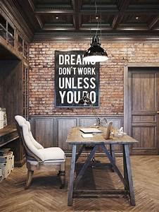 Bureau Style Industriel : inspiration bureau style industriel loft atelier frenchyfancy 03 frenchy fancy ~ Teatrodelosmanantiales.com Idées de Décoration