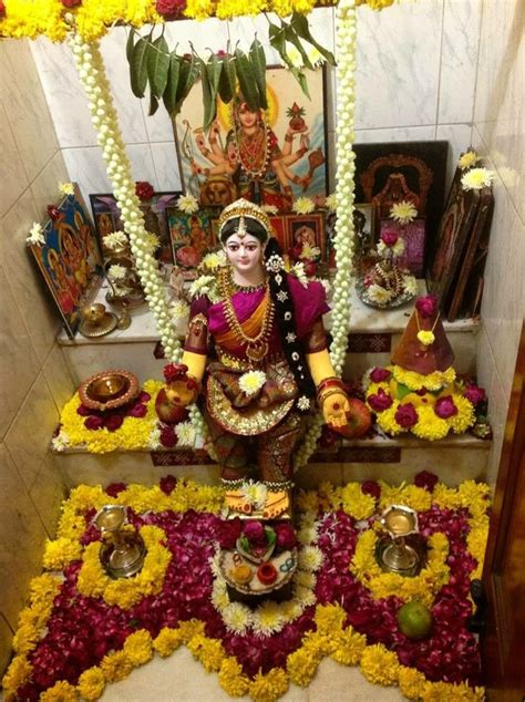 Varalakshmi Vratham 2015 Decoration Ideas by 17 Best Images About Pooja Room Ideas On Pinterest