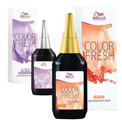wella color fresh ml salon supplies