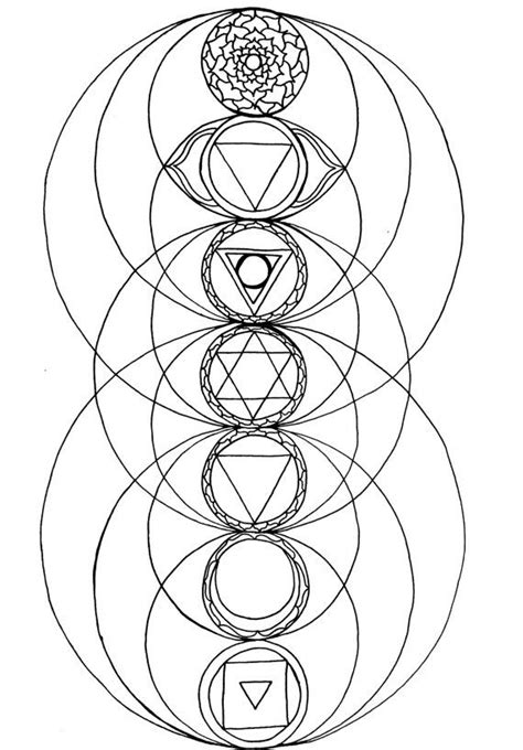 Pin by cashonthebarrelheadfred on god in a zone in 2019 | Sacred geometry, Coloring pages, Book