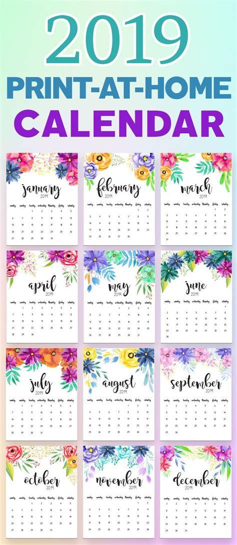 printable calendars  planners calendar