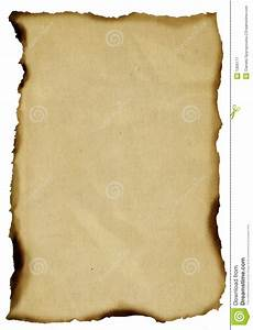 Burnt old paper stock image. Image of feel, crumpled ...