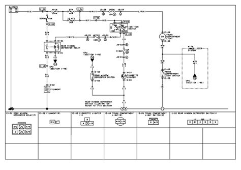 Rear Light Wiring Diagram by Repair Guides Trunk Compartment Light 1999