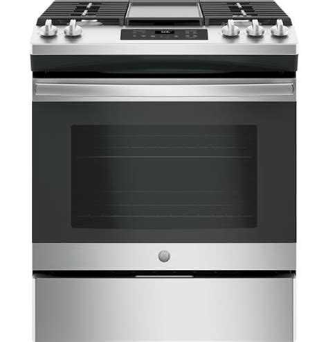 ge jgssfelds    front control gas range  appliances