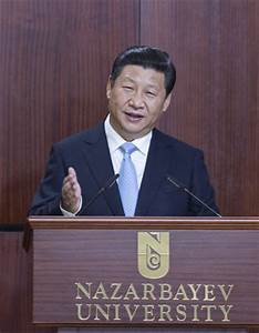 Xi proposes a 'new Silk Road' with Central Asia[1]